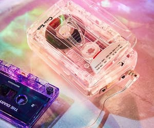 cassette, aesthetic, and music image