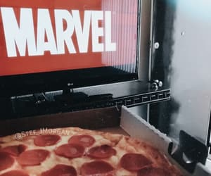 chill, food, and Marvel image
