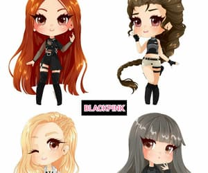 art, blackpink, and jisoo image