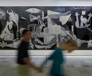 art, couple, and picasso image