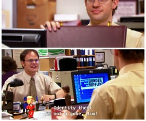 dwight, funny, and humour image