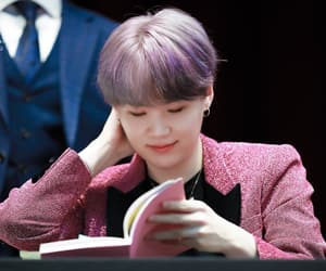 purple hair, aladin fansign, and bts image