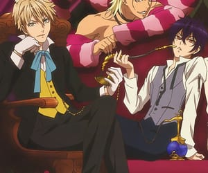 anime, ram, and handsome image