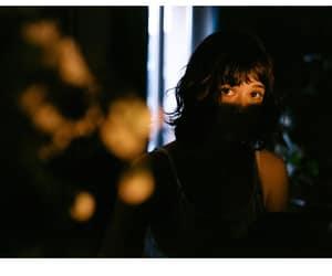 black, girl, and light image