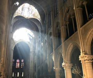 cathedral, notre dame, and photo image