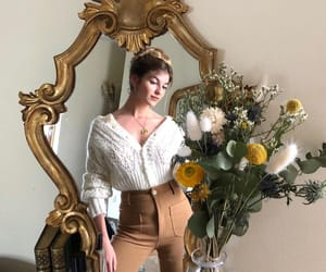 brown, delicate, and fashion image