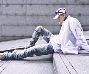 cigarettes, sitting, and fashion image