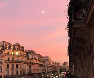 paris, sky, and city image