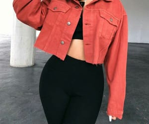 fashion, leggins, and outfit image
