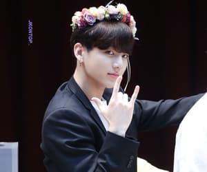 flower crown, bangtan, and bts image