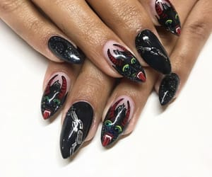 girl, grunge, and nails image