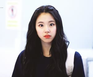 brown hair, twice, and son chaeyoung image