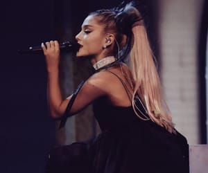 music, ariana grande, and no tears left to cry image