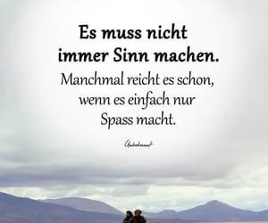 deutsch, spass, and sinn image
