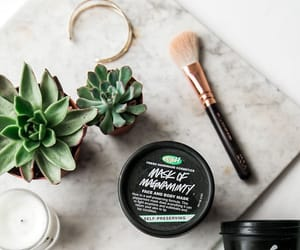 lush, beauty, and candle image