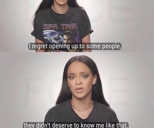 rihanna, quotes, and life image