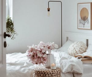 bed, decorate, and home image
