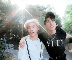 gif, stray kids, and lee felix image