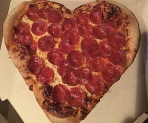 heart, pizza, and tumblr image