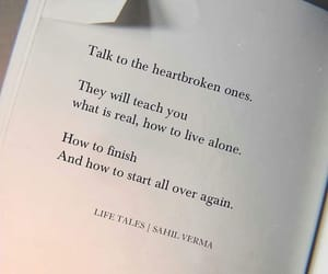 heartbroken, quotes, and words image
