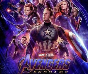 Marvel, Avengers, and endgame image
