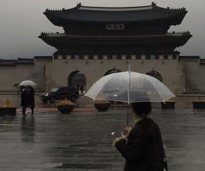 rain, aesthetic, and japan image