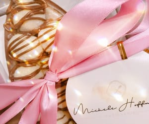 easter eggs bows pink image