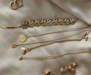 accessories, chic, and gold image
