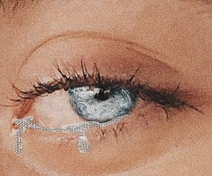 tears, aesthetic, and blue image