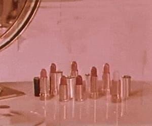 gif, lipstick, and vintage image