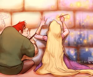 disney, rapunzel, and quasimodo image
