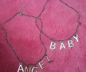pink, angel, and baby image