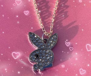 necklace and Playboy image