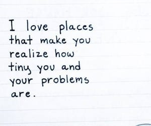 quotes, problem, and place image