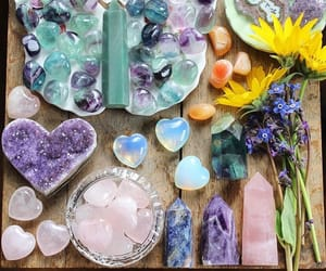 crystals and spiritual image