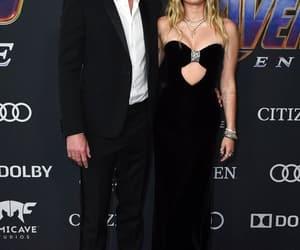 couple, avengers endgame, and miley cyrus image