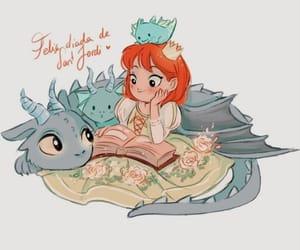 libros, princesa, and rosas image