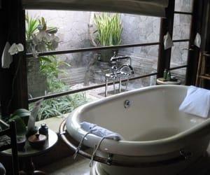 bath, bathroom, and house image