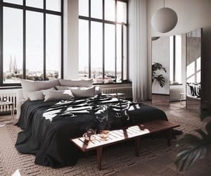 apartment, beautiful, and bedroom image