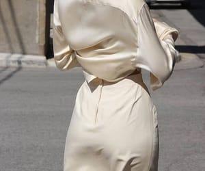 fashion, white, and silk image