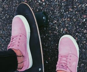 fun, girl, and pink image
