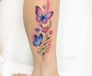 butterflys, colours, and inspiration image