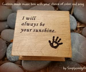 etsy, hand print, and you are my sunshine image
