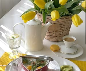 beautiful life, breakfast, and cup of coffee image