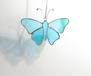 etsy, blue butterfly, and decor home image