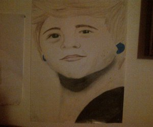 niall horan and drawing one direction image