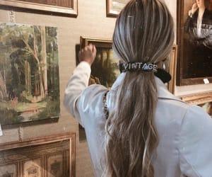 fashion, hair, and art image