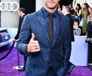 Avengers, chris hemsworth, and world premiere image