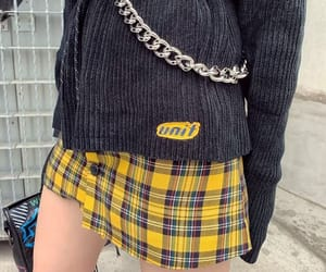 aesthetic, edgy, and skirt image
