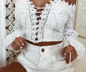 blanco, white, and clothes image